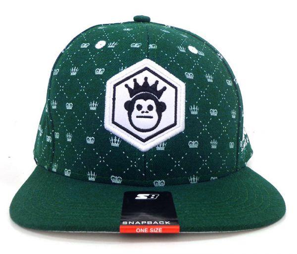 7e24324be401a Boné Aba Reta Kings Sneakers Verde MOD 70357 - Manutenção