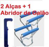 1 abridor de Galão +2 Alças de Galão de Agua