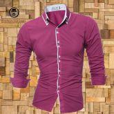 Camisa Manga Longa Roxa