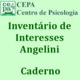 33.02 - Inventário de Interesses Profissionais ANGELINI - Caderno (pacote c/ 10 unidades)