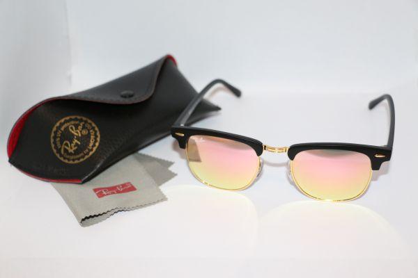 898ce4135 Óculos Clubmaster RB3016 PC Rosa - Loja de Elnshop