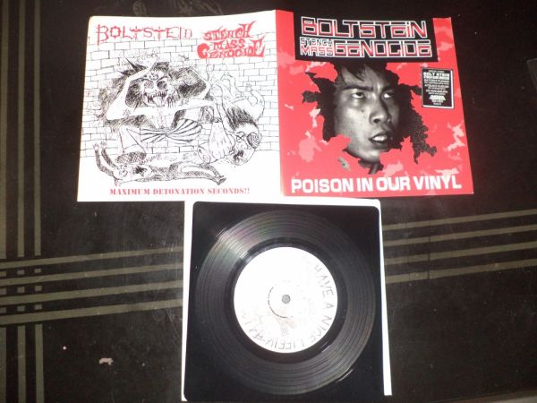 Boltstein/Stench Mass Genocide - split '7 ep