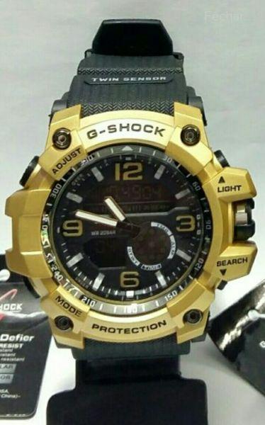 04b6474cbbc Relógio Casio G-Shock Mundmaster Dourado - Imperius Shop