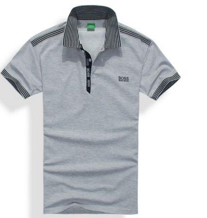 Camisa Polo Hugo Boss Cinza (Prazo de entrega de 20 -40 dias) - Sul ... afb870b3cd4