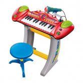 Brinquedo Musical Infantil Meu Super Teclado Luz E Sons