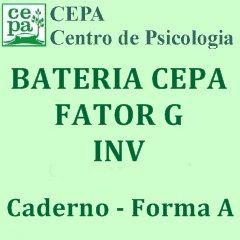 24.01 - Bateria Fatorial CEPA - Fator G - INV -  Caderno Forma A