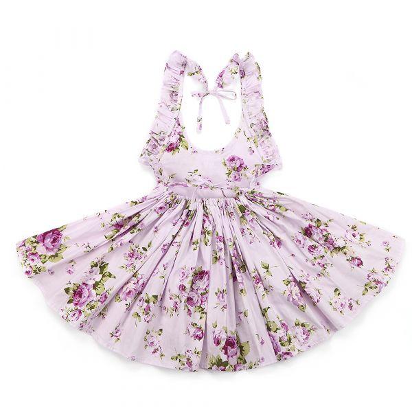 34a2a0c466 Vestido Menina Estilo Floral - Exclusiva Importados