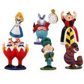 Alice No País Das Maravilhas Figura de Ação - 5 a 7cm
