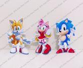 3 Displays de mesa - Sonic