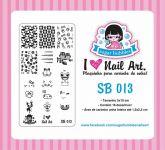 Placa Sugar Bubbles - SB013