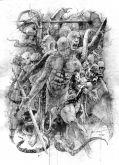 Arte original livro NECRONOMICON - 01