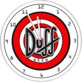 Relógio De Parede Duff Beer