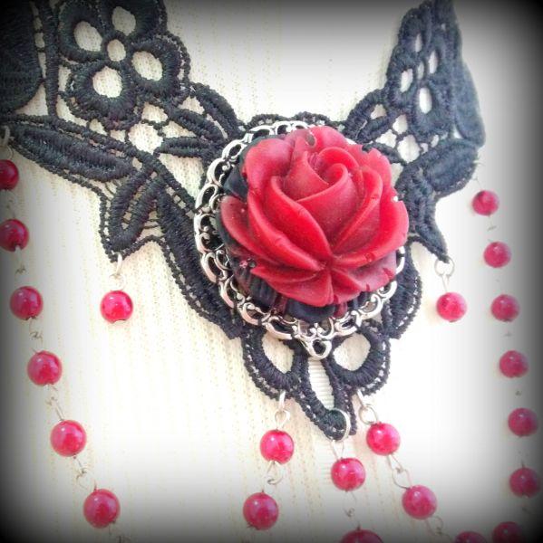 Gargantilha La Rose
