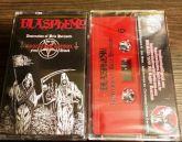 BLASPHEMY - Desecration of Belo Horizonte - Live in Brazilian Ritual Fifth Attack - CASSETE (Red) -