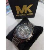 d1aa383e799 Relógio Feminino Mk Preto fosco
