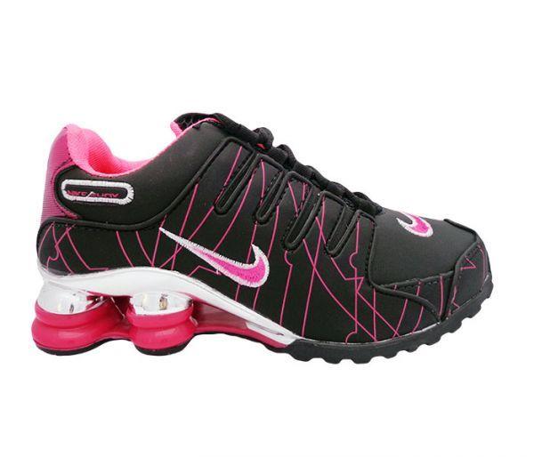 2407621a5a4 Nike Shox NZ Cromado Preto e Pink - Barato para Comprar de tudo