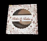 Caixa Bolo/Torta 33A com Visor 1un