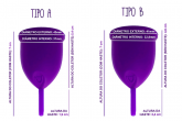 .Novo Violeta Cup - Tamanho A - Rosa