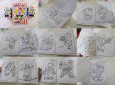 Kit Colorir com 10 desenhos