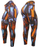 Calça Estampada - Moda Fitness |SBTC090 -TAM. G -VESTE 44