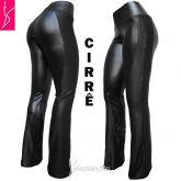 calça preta cirrê(56/58-60/62) plus size, tecido com brilho