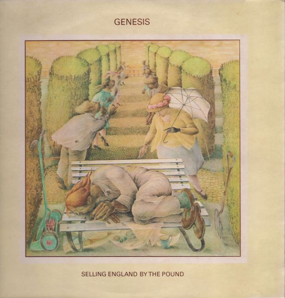 LP 12 - Genesis ‎– Selling England By The Pound