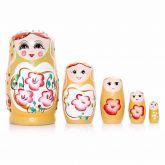 kit com 7 Bonecas Matrioshka