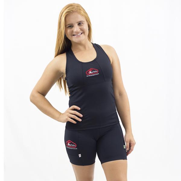 Regata Nadador Sprint Térmica Preta - Emana