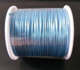 Cordão de Cetim 1mm AZUL CLARO Cor 199 100m