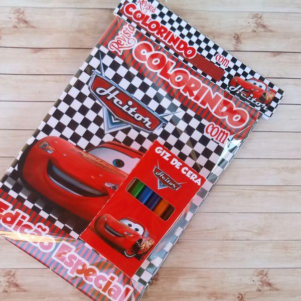 Kit para colorir Cars