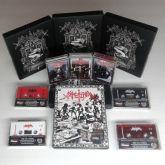SARCOFAGO - Die... Hard!!! - TAPE BOXET (3x Tapes, Black Tape)