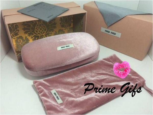 f95eafa8e4dfb Kit de estojo miu miu oficial pronta entrega - Prime Gifs