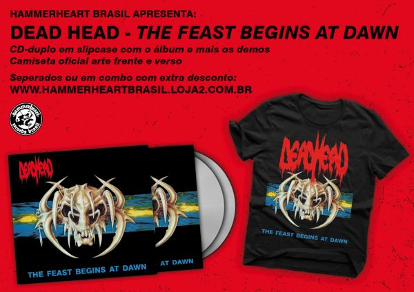 Combo Dead Head - The Feast Begins CD-duplo + camiseta