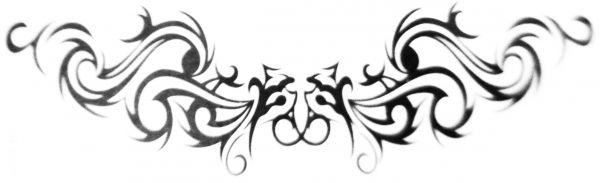 Kit com 10 Tatuagens Tribal