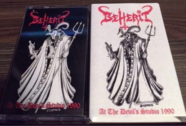 BEHERIT - At the Devil's Studio 1990 - CASSETE
