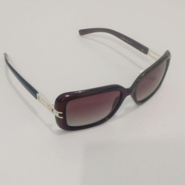 Óculos de Sol Discovery (Lente Polarizada) Marrom Avermelhado - Kame ... f5e3ac19cd