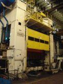 Prensa excêntrica Usada 3000 Tons Transfer DANLY mesa 4000 x 1700 mm