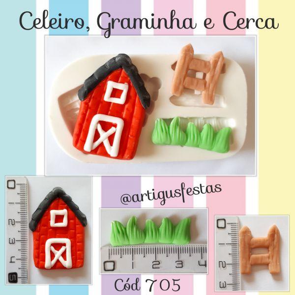 Celeiro, Graminha e Cerca