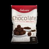 Chocolate em Pó 50% Cacau castor Salware 1kg 1un