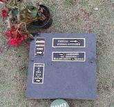 Placa em granito,40x40 com placas em bronze,cemitèrio particular,levo no local.
