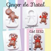 Ginger de Natal Cód 1132