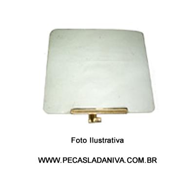 Vidro de Porta LD Niva c/ Suporte (Usado) Ref. 0289