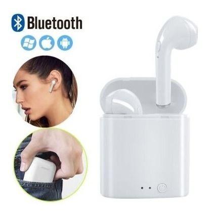 Fone De Ouvido Bluetooth AirPods I7-mini Tws S/ Fio Academia