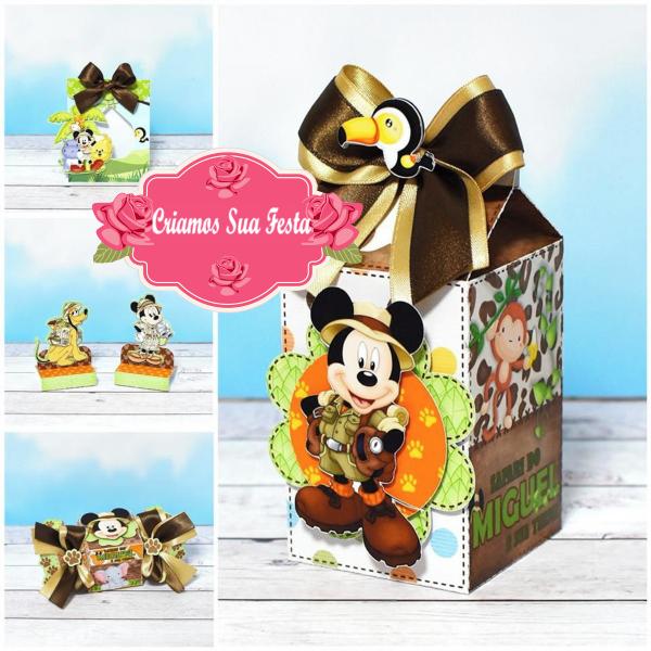 Personalizados do Mickey Safari