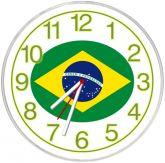 Relógio de parede Brasil