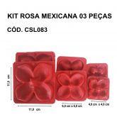 KIT ROSA MEXICANA 03 PEÇAS