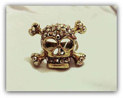 Anel Madame Skull