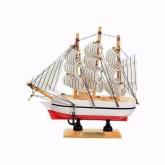 Navio de Madeira Miniatura