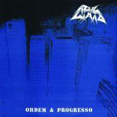 AZUL LIMÃO - Ordem e Progresso (LP) vinil azul com obi
