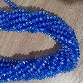 Cristais Cor Azul Furta Cor Tam 8 (apx 70 unidades)